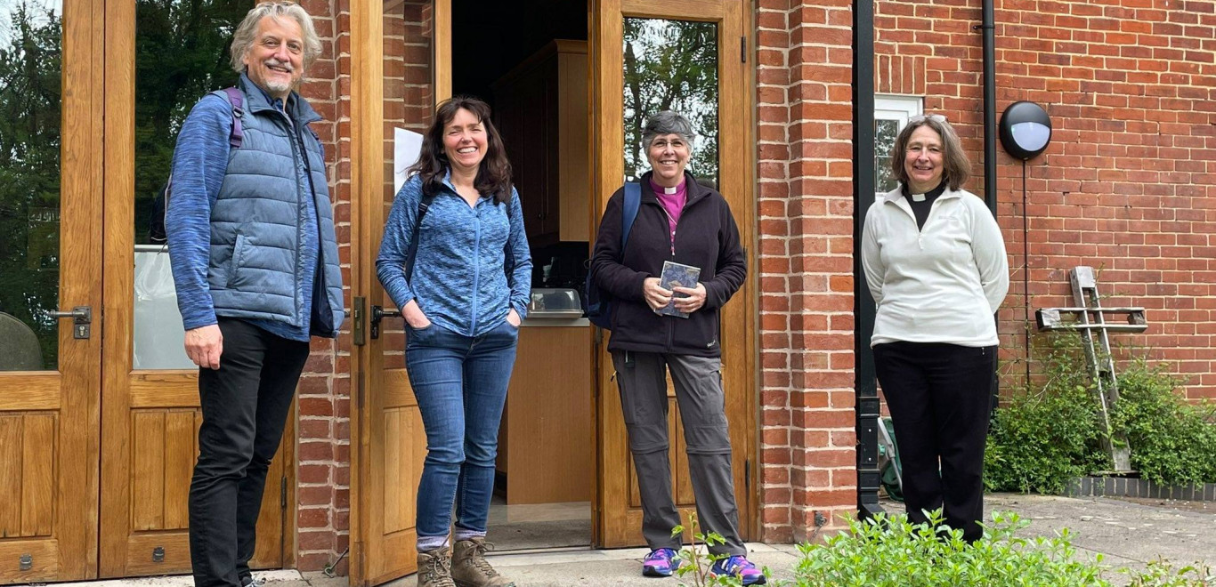 Bishop and Dean Pilgrimage Walk1