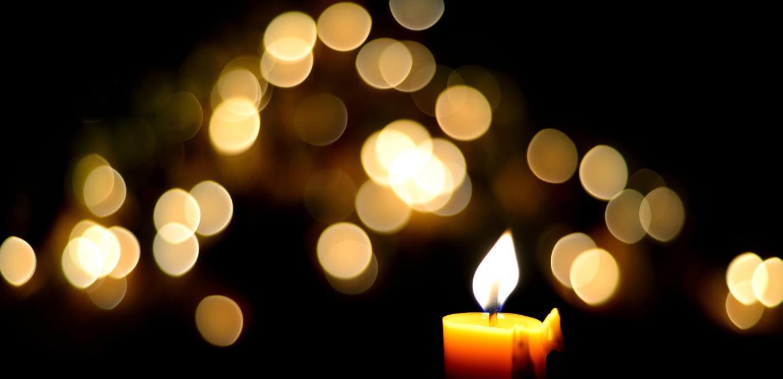 Reflective Candle