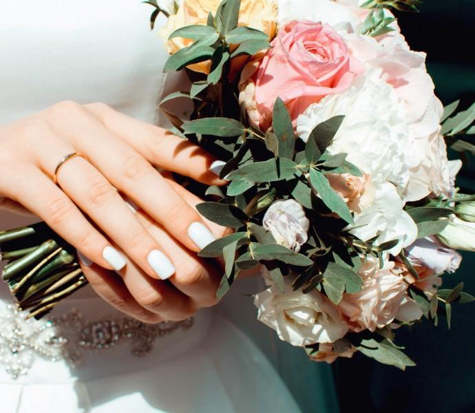 A brides bouquet