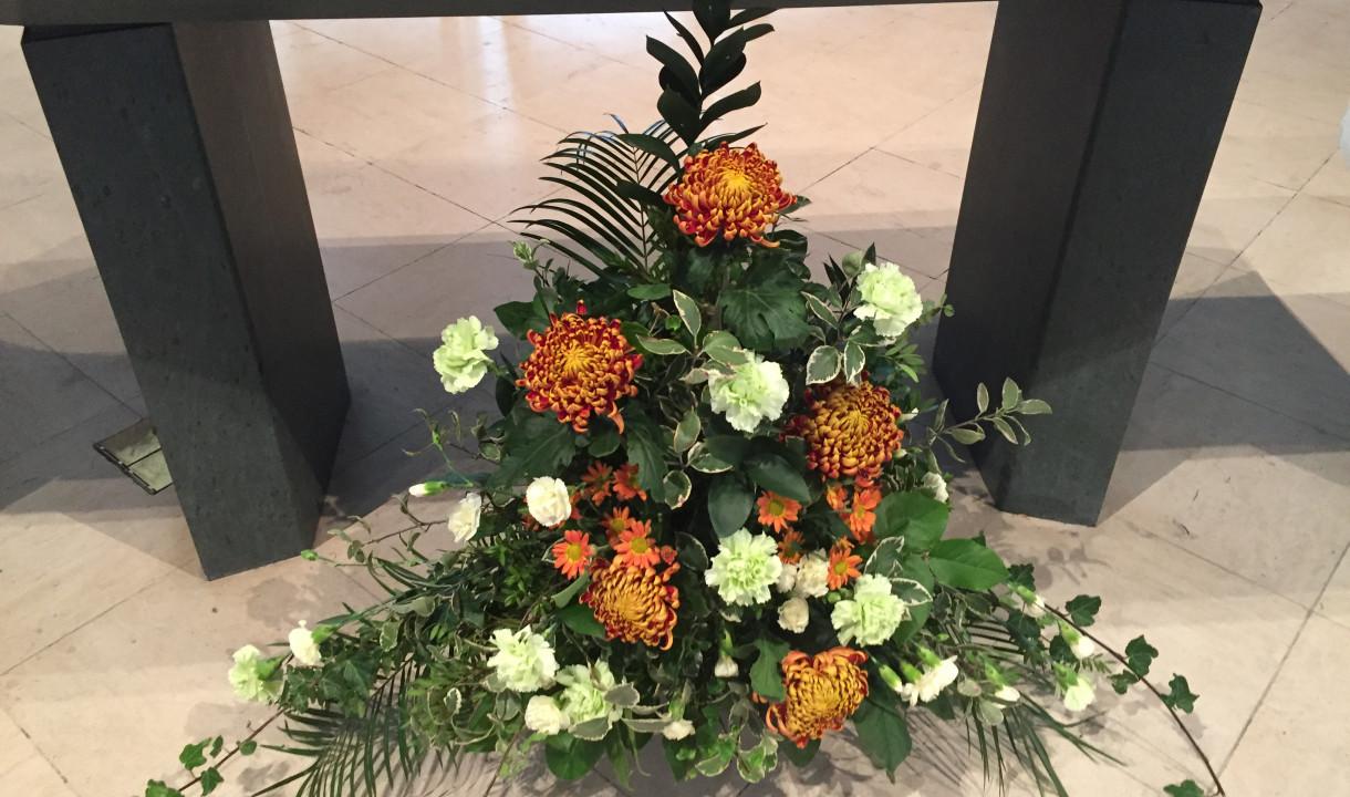 Flowers altar