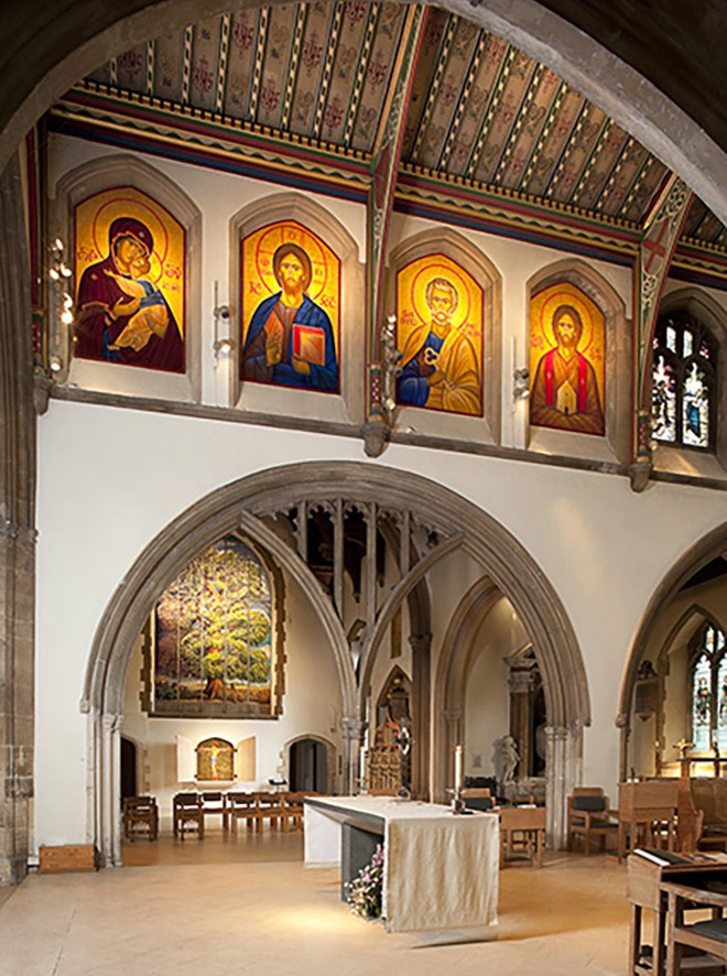 The Chancel Icons