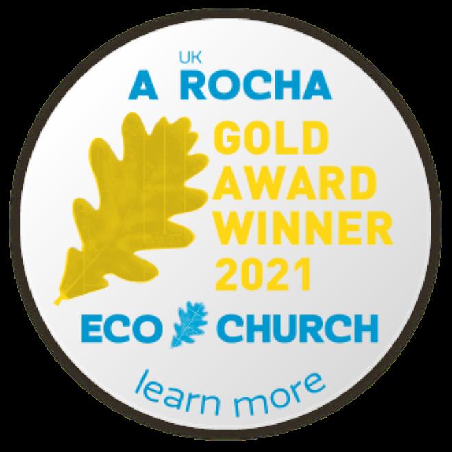 Gold Award Eco Church